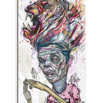 Ekundayo Original Art - Beast 3 - Original Painting