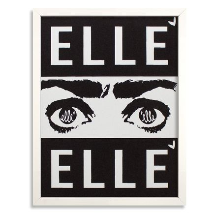 Elle Art Print - Elle - White Edition