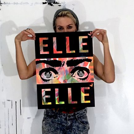 Elle Art Print -  Elle - Warm Edition