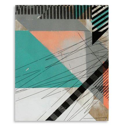 Ellen Rutt Original Art - Divide & Conquer 2