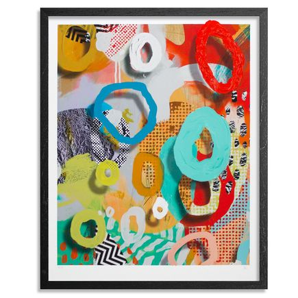 Ellen Rutt Art Print - OOO Face (Out Of Office)