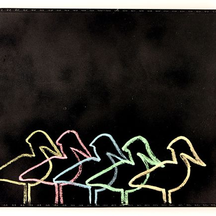 Ellis G Original Art - Flamingos