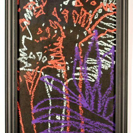 Ellis G Original Art - Abstract 2 (ferns)