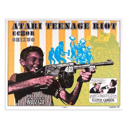 Emek Art - Atari Teenage Riot - Nov. 28 1997 at Clutch Cargos Pontiac, MI