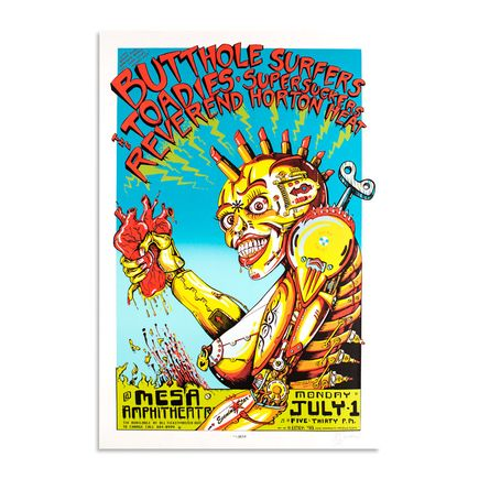 Emek Art - Butthole Surfers - July 1st, 1996 - Mesa Amphitheater
