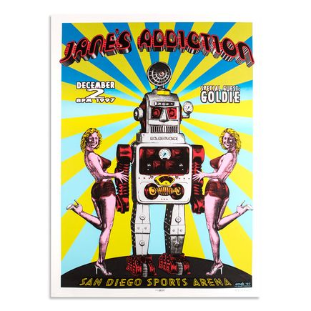 Emek Art - Janes Addiction - December 2nd, 1997 at The San Diego Sports Arena