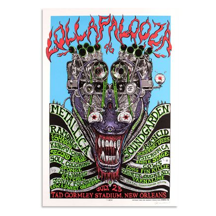 Emek Art - Lollapalooza - July 23rd, 1996 at Tad Gormley Stadium