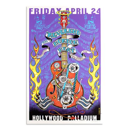 Emek Art - Reverend Horton Heat - April 24th, 1998 at The Hollywood Palladium