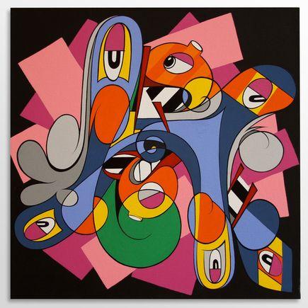 Eric Inkala Original Art - Sideways Talk - Original Artwork