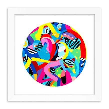 Eric Inkala Art Print - SkyHigh - Hand-Embellished Edition