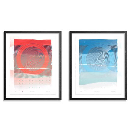 Erik Otto Art Print - Wavelengths - 2-Print Set