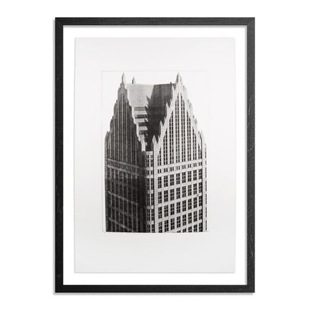Esteban Chavez Art Print - One Detroit Center