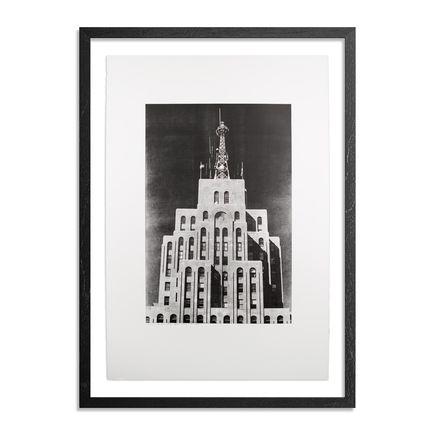 Esteban Chavez Art Print - Penobscot Building