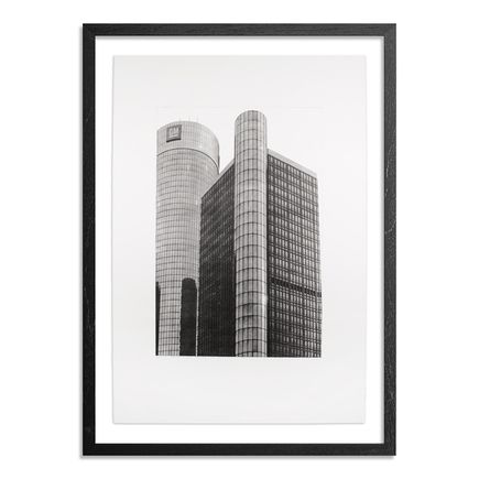 Esteban Chavez Art Print - Renaissance Center