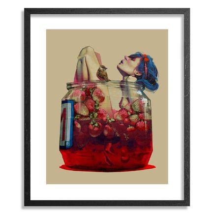 Etam Cru Art Print - Moonshine - Framed