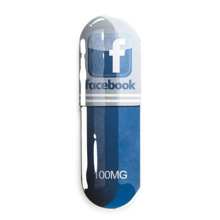 Denial Original Art - Overdose - Facebook - 10 x 32 Inch Pill