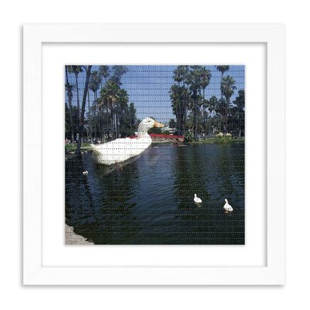 Roger Steffens / The Family Acid Art Print - Superduck Invades Echo Park Lake - Sept. 6th, 2001 - Blotter Edition