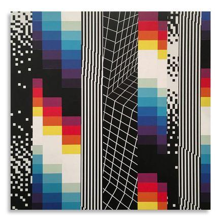Felipe Pantone Original Art - Chromodynamica 24