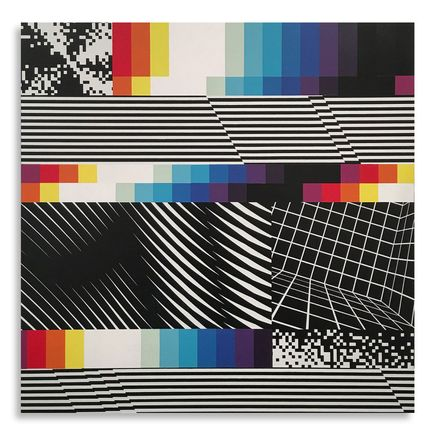 Felipe Pantone Original Art - Chromodynamica 25