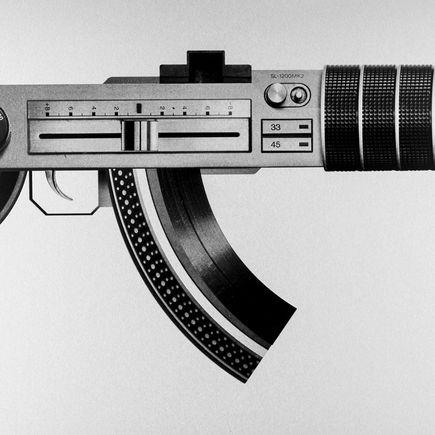 Fil Fury Art Print - AK40Heaven - Framed