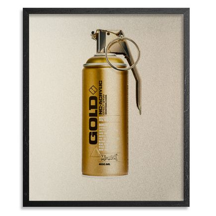 Fil Fury Art Print - Bombing - 20x24 Inch Gold Edition
