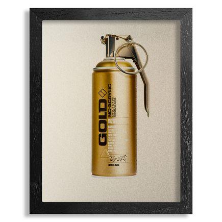 Fil Fury Art Print - Bombing - 8x10 Inch Gold Edition