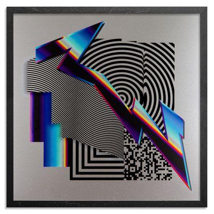 Felipe Pantone Art Print - W3-Dimensional 5 - Aluminum Edition