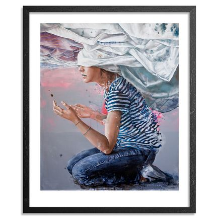 Fintan Magee Art Print - Head In The Clouds