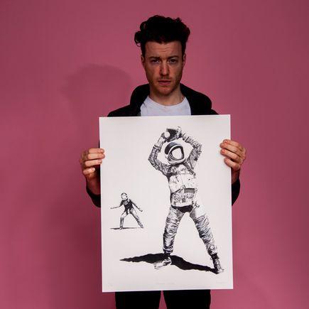 Nicholas Forker Art Print - Eephus Pitch