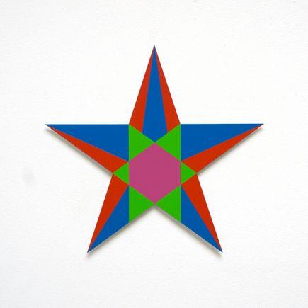 Franklin Jonas Hand-painted Multiple - Stars 1 of 30