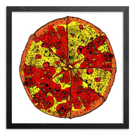 French Art Print - Pizza Print - Limited Edition Print