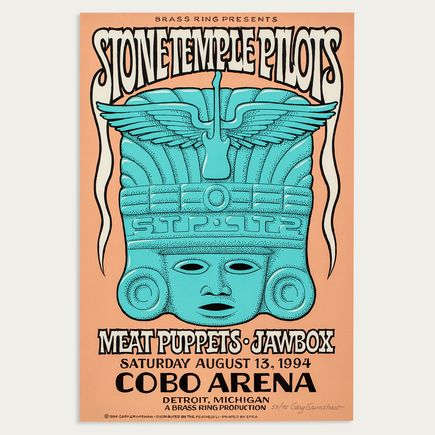 Gary Grimshaw Art - Stone Temple Pilots - Aug. 13th, 1994 at Cobo Arena