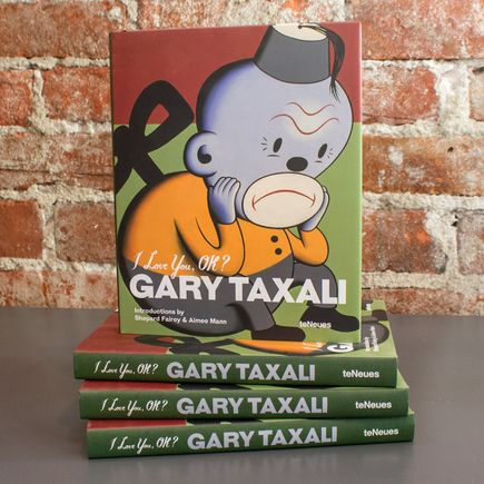 Gary Taxali Book - I Love You, OK? - Signed Book