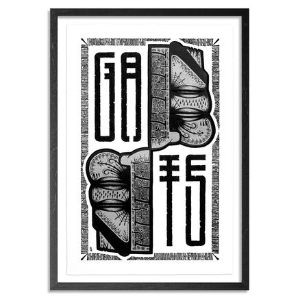 Gats Art Print - Upper Face Flip