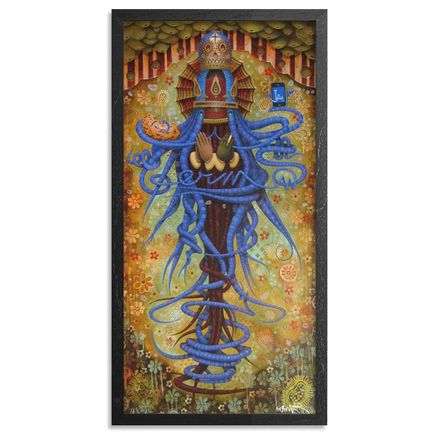 Germs Art Print - Purgatory Mary