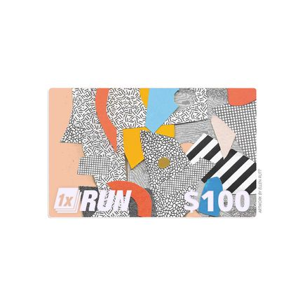 1xRUN Editions Art - $100 Gift Card