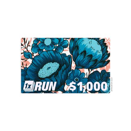 1xRUN Editions Art - $1000 Gift Card