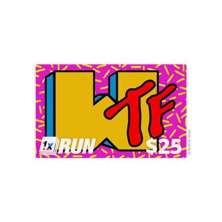 1xRUN Editions Art - $25 Gift Card