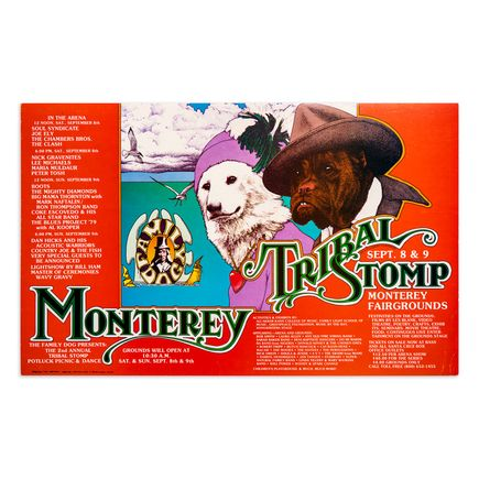 Gilbert V. Johnson Art Print - Tribal Stomp - Monterey Fairgrounds - 1979