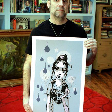 Glenn Barr Art Print - Vinyl Girl