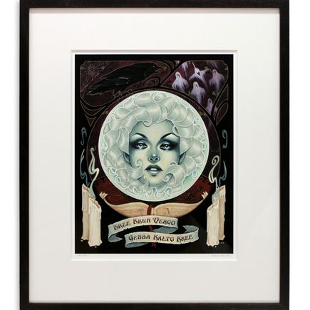 Glenn Arthur Art - Call In The Spirits, Wherever They're At - Framed & Matted