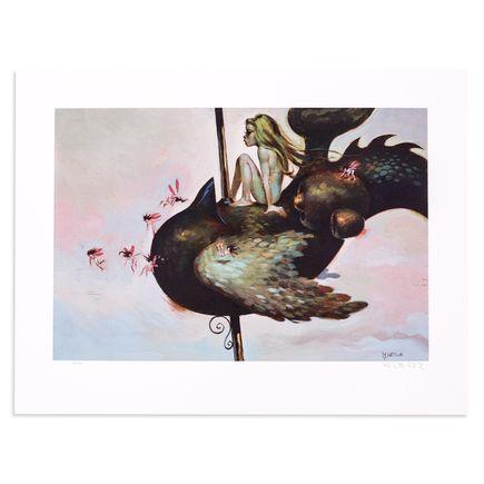 Glenn Barr Art Print - Carousel de Roma