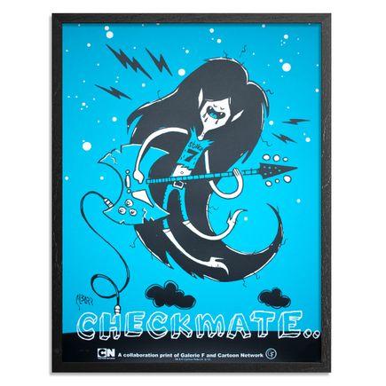 Glenn Barr Art Print - Marceline: Checkmate - Blue Edition