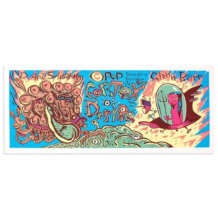 Glenn Barr Art - CPOP Presents Cortex Of Desire 2000