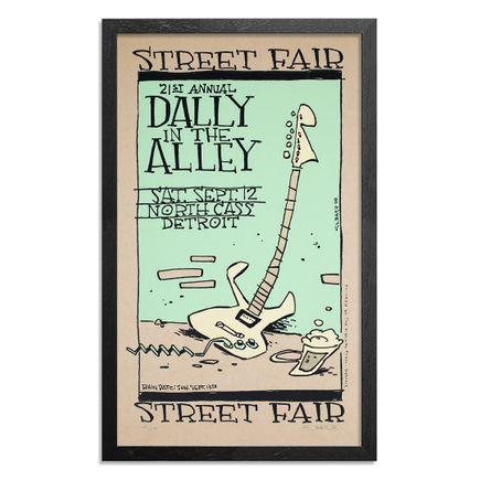 Glenn Barr Art Print - Dally In The Alley - Detroit, MI - 1998