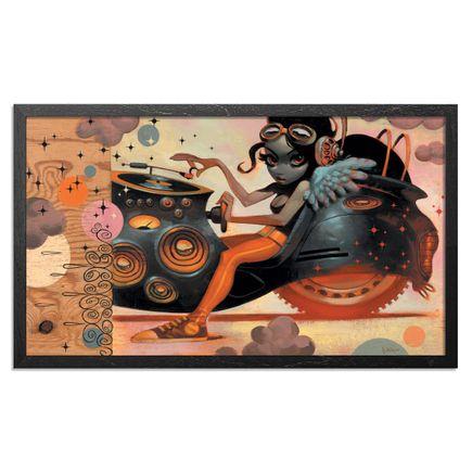 Glenn Barr Art Print - DEMF - SIGNED POSTER