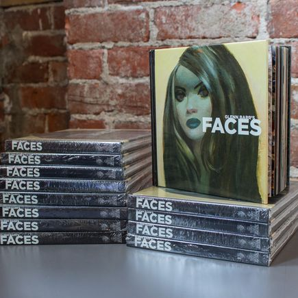 Glenn Barr Book - Faces - Hardcover Book