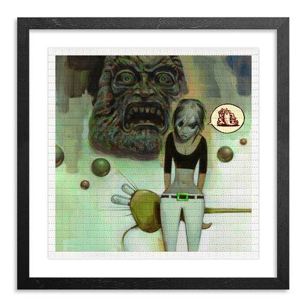 Glenn Barr Art Print - Herold of Z - Blotter Variant