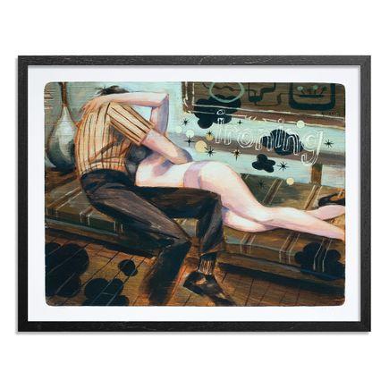 Glenn Barr Art Print - Ironing - Limited Edition Prints