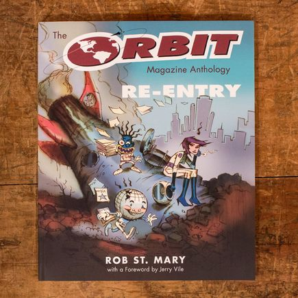 Rob St. Mary Book - Re-Entry - First Edition Softcover Book
